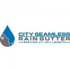 City Seamless Rain Gutter