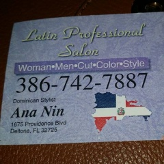 Latin Professional Dominican Salon
