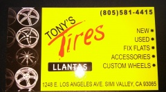 TONY'S TIRES SIMI VALLEY, CA