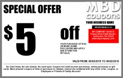 BUY PRINTED COUPONS FOR YOUR NEW AND REPEAT CUSTOMERS