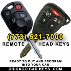 CHICAGO CAR KEYS