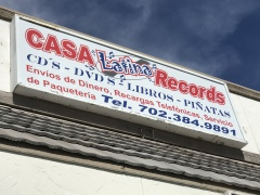 CASA LATINA RECORDS, LAS VEGAS, NEVADA