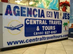 Central Tours & Travel Santa Ana, California - SA