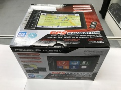 Power Acoustic stereo with DVD player / Bluetooth / GPS navigation/ Touch Screen, USB 6.2. LCD for sale Las Vegas, $399.99
